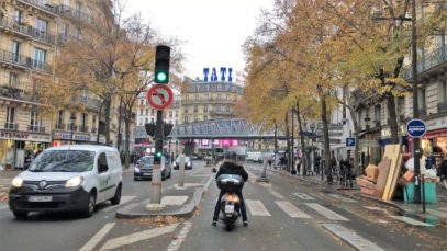 Paris 4K – Nightlife Strip Day Drive