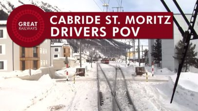 Cabride St. Moritz – Chur – part 1 • POV • Great Railways
