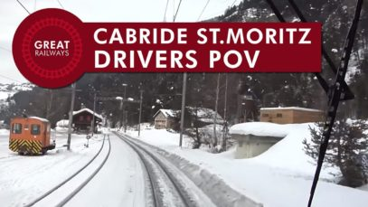 Cabride St. Moritz – Chur – part 2 • POV • Great Railways