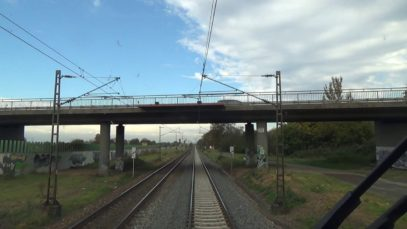 Führerstandsmitfahrt – Neu Edingen-Friedrichsfeld – Wiesbaden Ost