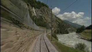 World railways. Switzerland. Glacier Express_2. Brig – Andermatt