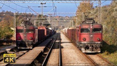 4K CABVIEW Beograd – Subotica (north Serbia) – EC train 344 (Beograd – Wien Hbf)