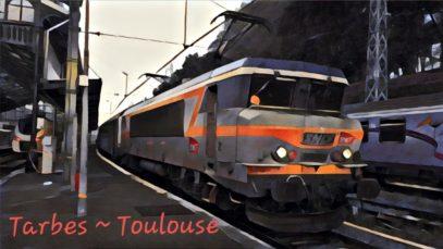 [Cab Ride] Tarbes ~ Toulouse-Matabiau
