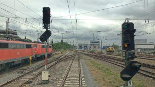 Führerstandsmitfahrt: Oggersheim – Germersheim – Wörth – Karlsruhe