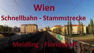 Schnellbahn Wien / Vienna | Meidling – Floridsdorf | Führerstandsmitfahrt / Cab Ride ÖBB 4020