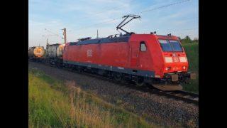 Führerstandsmitfahrt / Cabview BR 185 Leipzig Wahren- Halle/Saale- Köthen. Magdeburg Sudenburg