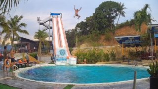 High Park Samui Slide-Cam From Chaweng, Koh Samui, Thailand | Live HD Webcam | SamuiWebcam