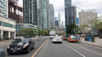 Toronto 4K – Waterfront Skyscrapers – Driving Downtown Canada