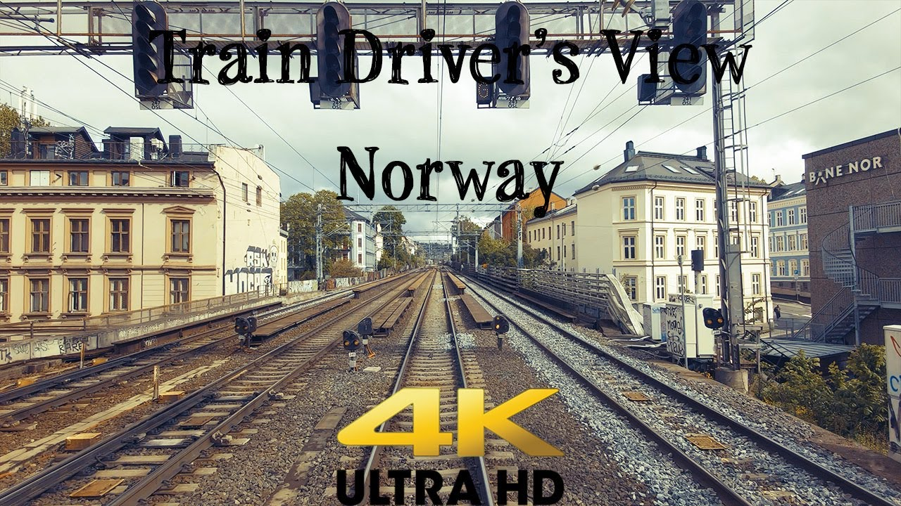 Train Driver's View: Train to Bergen diverted over the Gjøvik Line