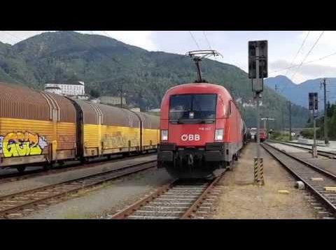 Führerstandsmitfahrt Taurus Rh1116 Kufstein – München Nord Rbf
