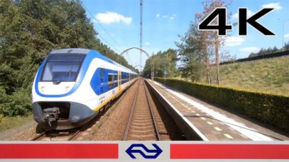 4K CABVIEW HOLLAND Utrecht – Bussum Zuid SLT 22aug 2019