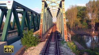 4K CABVIEW Resnik – Pančevo (Belgrade Railway Junction – freight train ride)