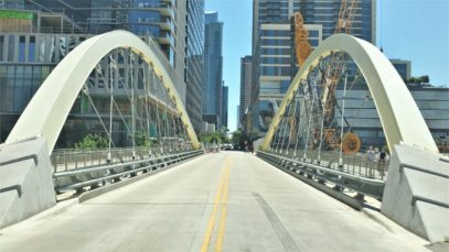 Austin 4K – Skyscraper District Drive – USA