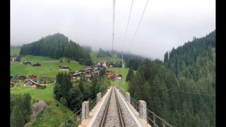 Cab Ride Arosa – Chur, Switzerland