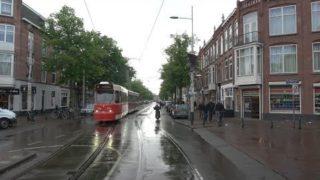 HTM tramlijn 12 Station Hollands Spoor – Den Haag Duindorp – Remise Lijsterbes v.v. | GTL8 3104 | 19