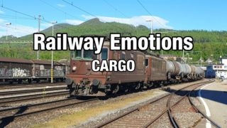 Long distance cargo cab ride on a fuel train (Cab Ride Switzerland | Olten – St. Margrethen)