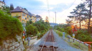 Biel – Moutier, Beautiful cab ride through the Jura mountains of Switzerland [07.2019]