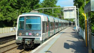 Cabine RER B : Massy / Paris Nord