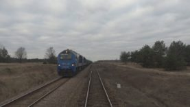 """Cabview 4K MR 4039 TLK 23116 """"HETMAN"""" Hrubieszów Miasto – Stalowa Wola + sound – 02.03.2019"""