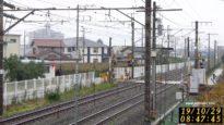 JR 中央本線ライブカメラ②(春日居町⇔石和温泉)下り甲府、松本方面向き