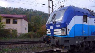 Podzimní svezení na trati Ústí nad Labem – Praha
