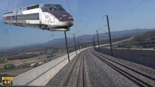 4K TGV Cabride Lyon Part-Dieu à Marseille Saint-Charles en TGV R