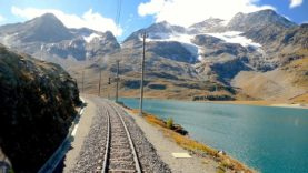 Cab ride St. Moritz – Tirano (Bernina pass), Switzerland to Italy [10.2019]