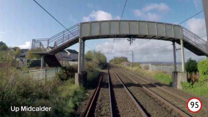 Edinburgh to Carlisle Driver's Eye View