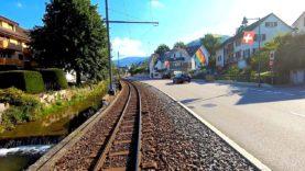 Cab ride Liestal – Waldenburg, Switzerland [08.2019] Soon part of history!