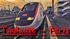 [Cab Ride] Toulouse-Matabiau ~ Paris-Montparnasse