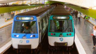 Cabine Metro RATP Ligne 7 : La Courneuve / Mairie d'Ivry