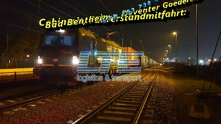 Cabinerit, Führerstandmitfahrt: Bad Bentheim – Deventer Goederen.