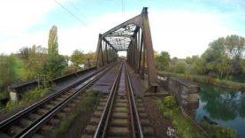 Cabinerit, Führerstandmitfahrt: Hannover-Linden – Bünde.