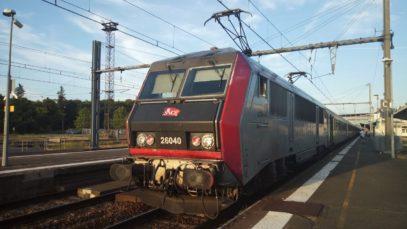 De Paris Austerlitz à Tours en cabine de la BB26053