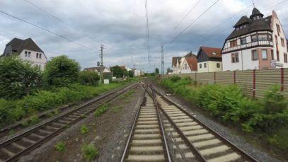 Führerstandsmitfahrt, Cabinerit: Riedstadt-Goddelau (D) – Venlo (NL)