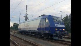 Führerstandsmitfahrt / Cabview BR 145 Hamburg Altona – Seehafen Unterelbe