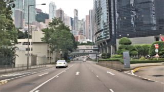 Hong Kong 4K – Morning Skyline Views – Driving Downtown