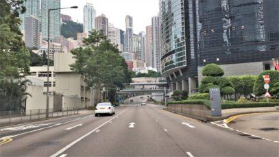 Hong Kong 4K – Morning Skyline Views – Driving Downtown