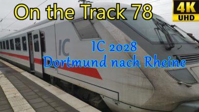 IC 2028 Dortmund-Rheine, 4K
