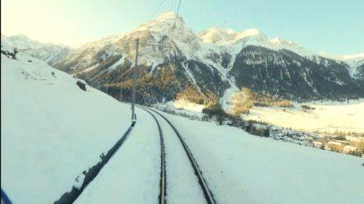 4K Cab ride Samedan – Bergün, Switzerland [01.2020]