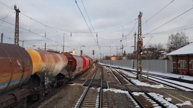 Führerstands mitfahrt von Nürnberg nach Passau. Teil 2
