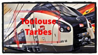 [Cab Ride] Toulouse – Tarbes