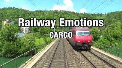 Cargo cab ride from central to northwest Switzerland (Cab Ride   Emmenbrücke/Luzern – Basel)