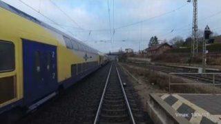 Führerstandsmitfahrt #041 – Morgens von Göttingen nach Hannover
