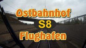Führerstandsmitfahrt 2019 S-Bahn München – S8 Ostbahnhof – Flughafen