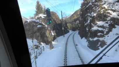 ÖBB Führerstandsmitfahrt: Winter auf der Arlbergbahn am 01.02.2020 von Bludenz nach Innsbruck in 4K