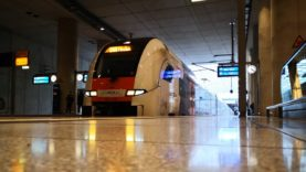 Führerstandsmitfahrt Desiro HC RRX BR462 RE6 Minden Köln Bonn Flughafen Teil 2, mit Umleitung.