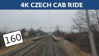 4K czech cab ride: Brno – Židlochovice