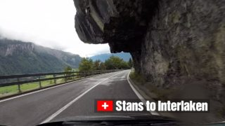Driving from Stans to Interlaken via Brünig Pass – Scenic Drive Switzerland!