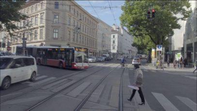 Führerstandsmitfahrt mit der Badner Bahn von Wien nach Baden